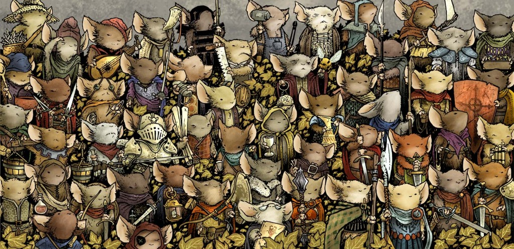 Mouse Guard Roleplaying Game Cover
