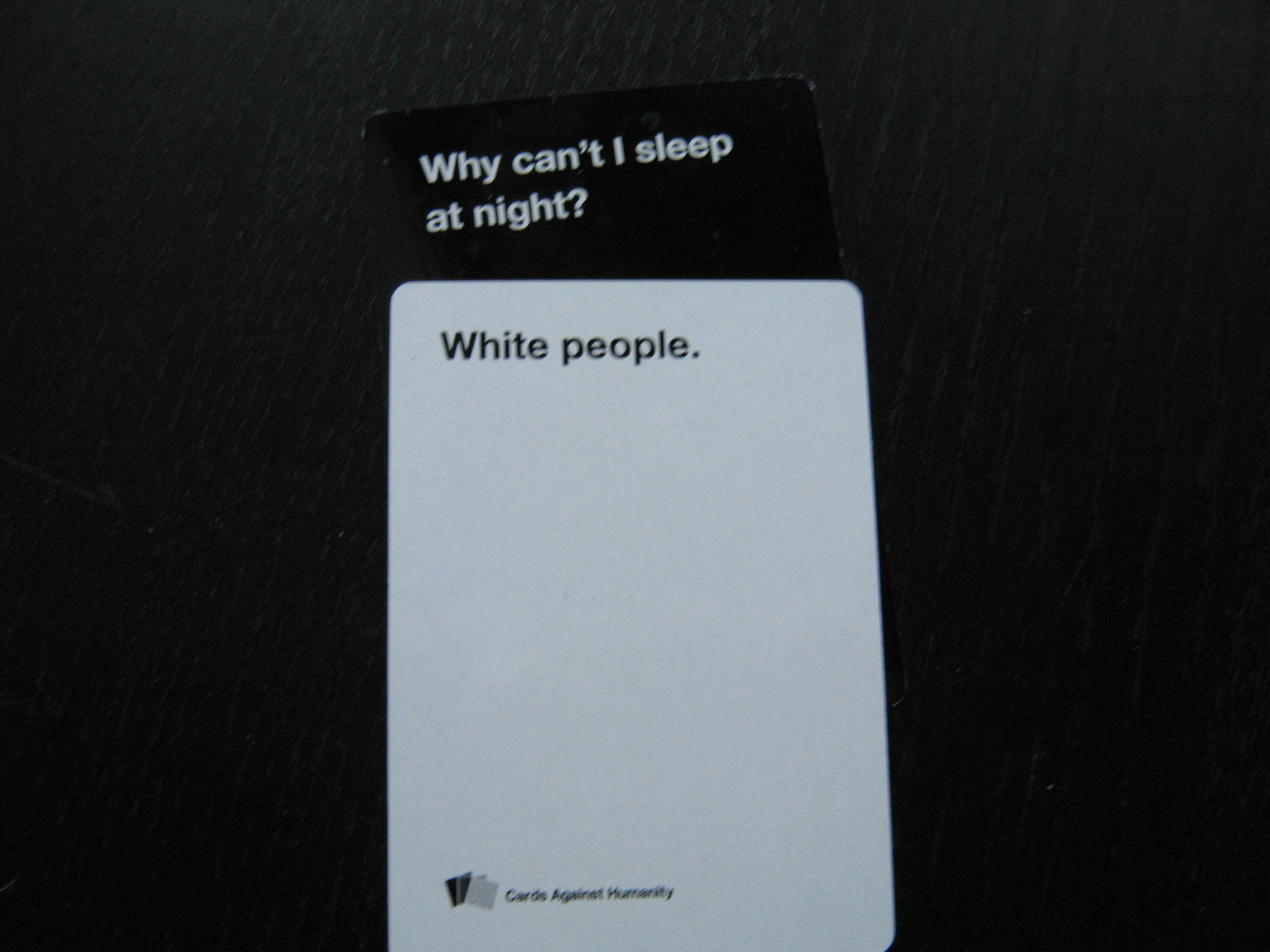 A Classy Evening With Cards Against Humanity Dorkadia