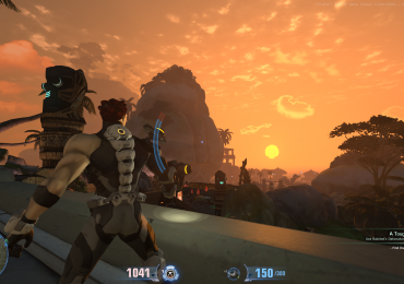 Firefall beta sunrise in New Eden