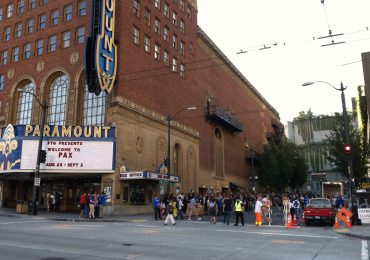 PAX Prime 2012 Paramount Theater marquee