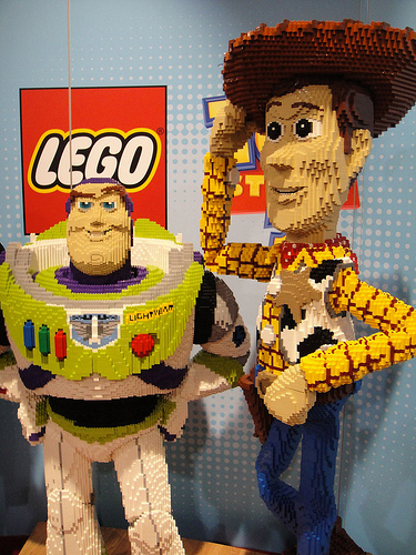 Toy Story! Photo by: http://www.flickr.com/photos/popculturegeek/