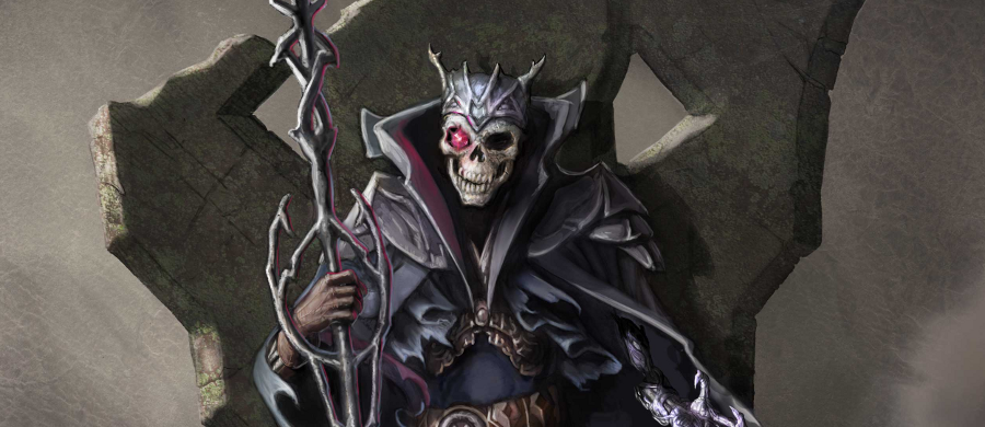 13th Age Lich King Banner