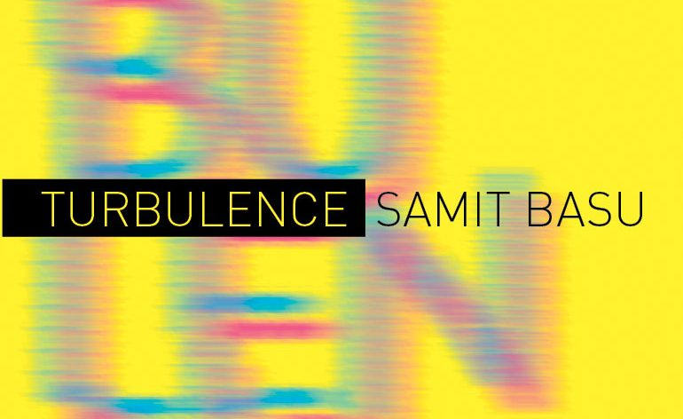 Samit Basu - Turbulence - Cover Art