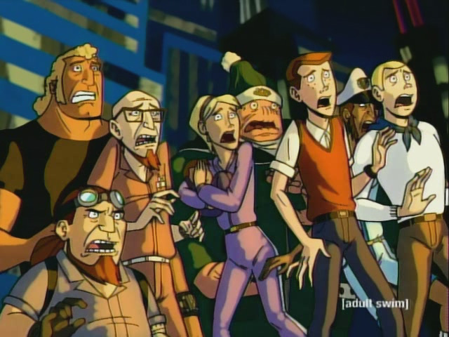 the venture brothers get on this bandwagon dorkadia