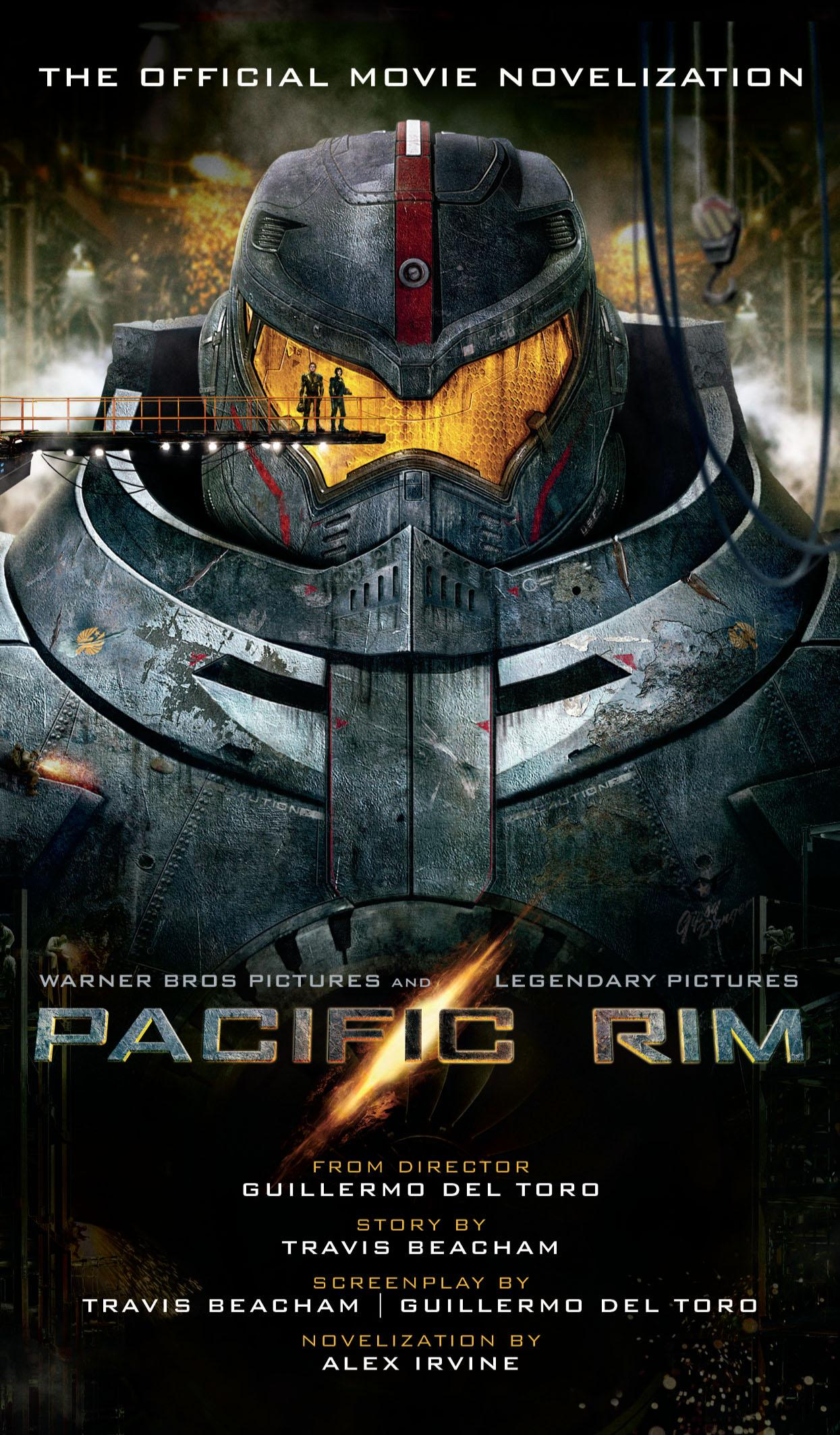 Pacific Rim - Yes there's a book and it's worth reading ... Pacific Rim Cover