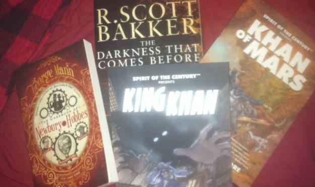 Fantasy/Sci-Fi Book Review Roundup