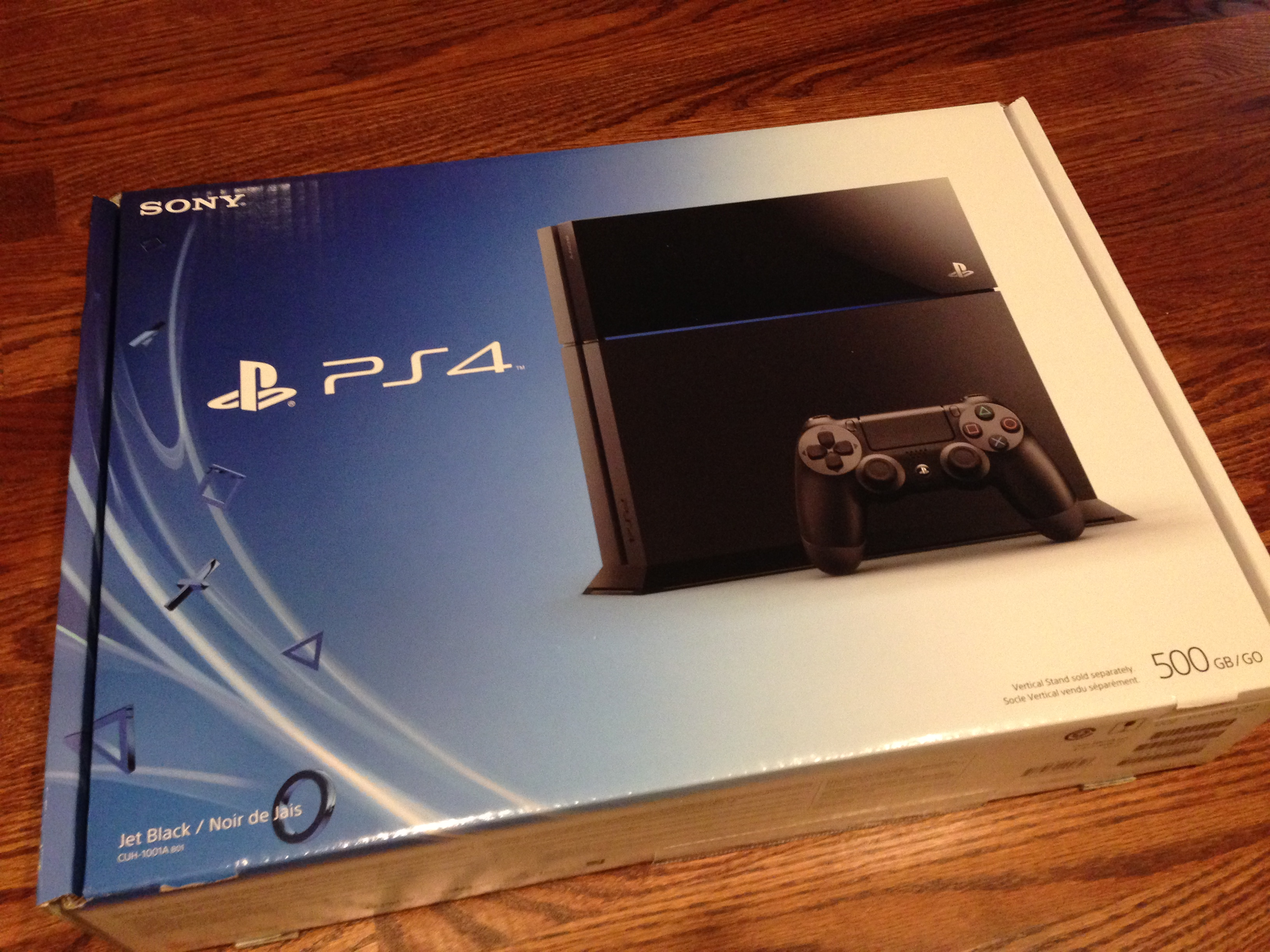We unbox the ps4 and it 39 s beautiful for Ps4 at home