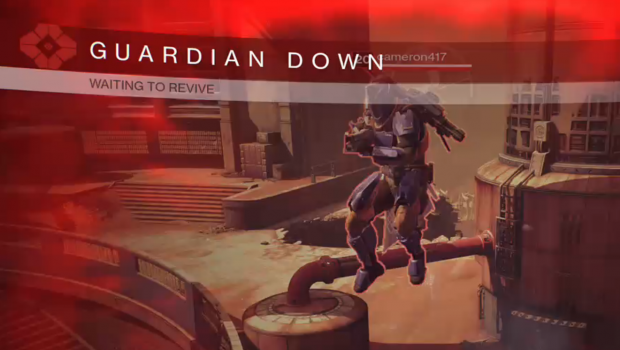 Destiny guardian down