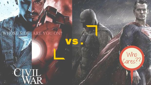 Civil War vs. Dawn of Justice: Who Cares??