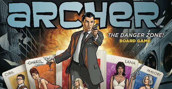 Archer the Board Game: The Confusion Zone